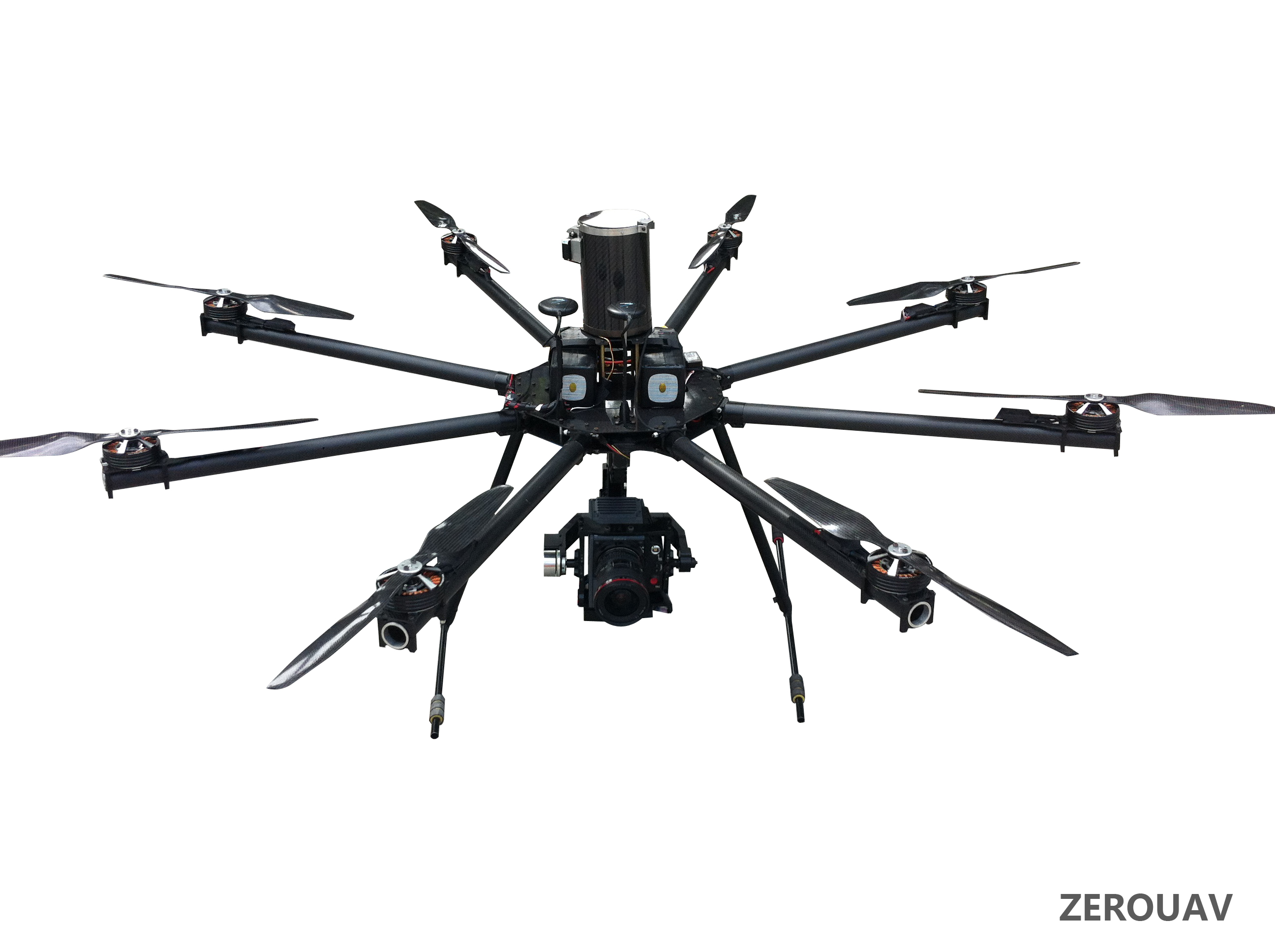 Октокоптер для аэровидеофотосъемки ZeroUAV E-EPIC aerial machine Ready To Fly System